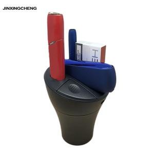 Image 1 - Cargador de coche JINXINGCHENG 3 en 1 para iqos 3,0 DUO cargador tipo C Material ABS para iqos cargador Multi 3,0 calentador de 3,0