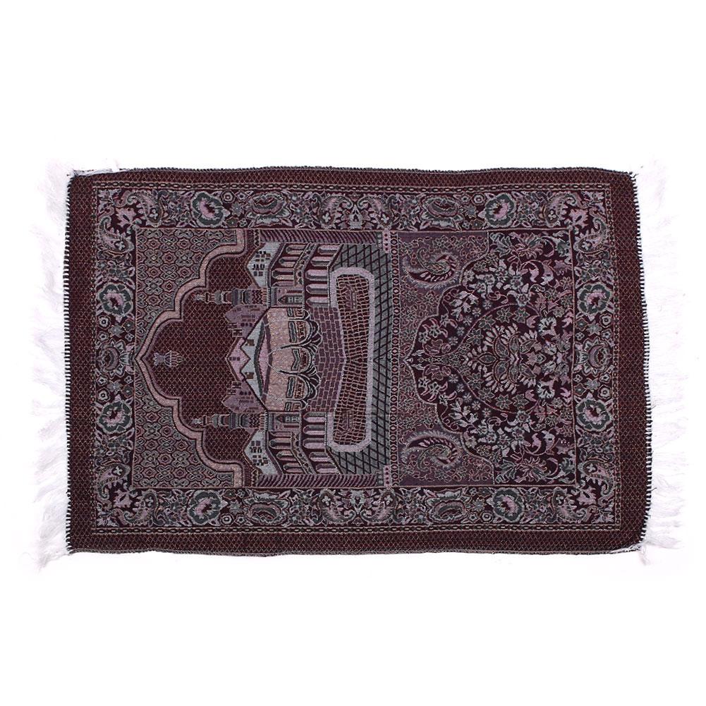 Muslim Prayer Rugs Velvet Thick Classic Islam Mat Multi Color Salat IslamicRug