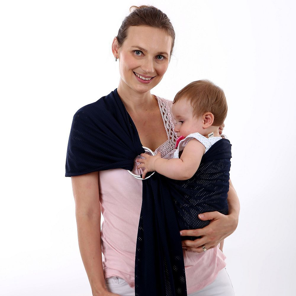 Sling-Carrier Soft-Sling Wrap-Cloth Hip-Seat Baby-Ring Infant Toddlers Newborn-Baby Breathable