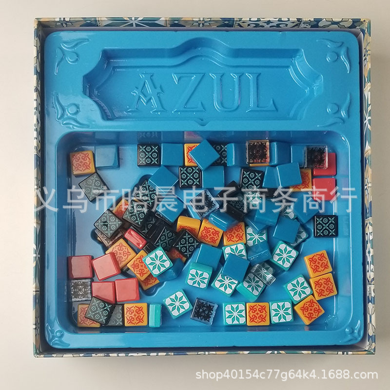 English Version Azul Color Brick Master Tile Story Tile Board Games Card Board Game Toy