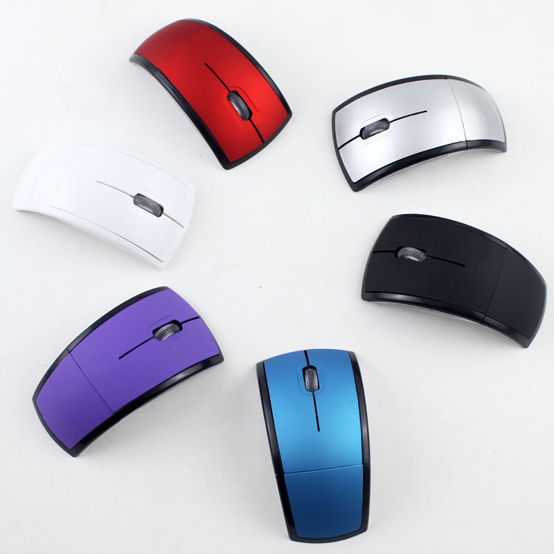 Wireless Mouse 2.4 GBS High Speed Signal Transmission Mouse For PC Laptop High Quality Foldable Wireless Mouse
