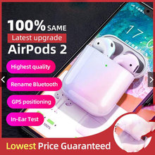 99% Sama Super Air 2 Copy Nirkabel Earphone Smart Light Sensor Bluetooth 5.0 Earbud Pop-Up Charger Nirkabel Headset(China)
