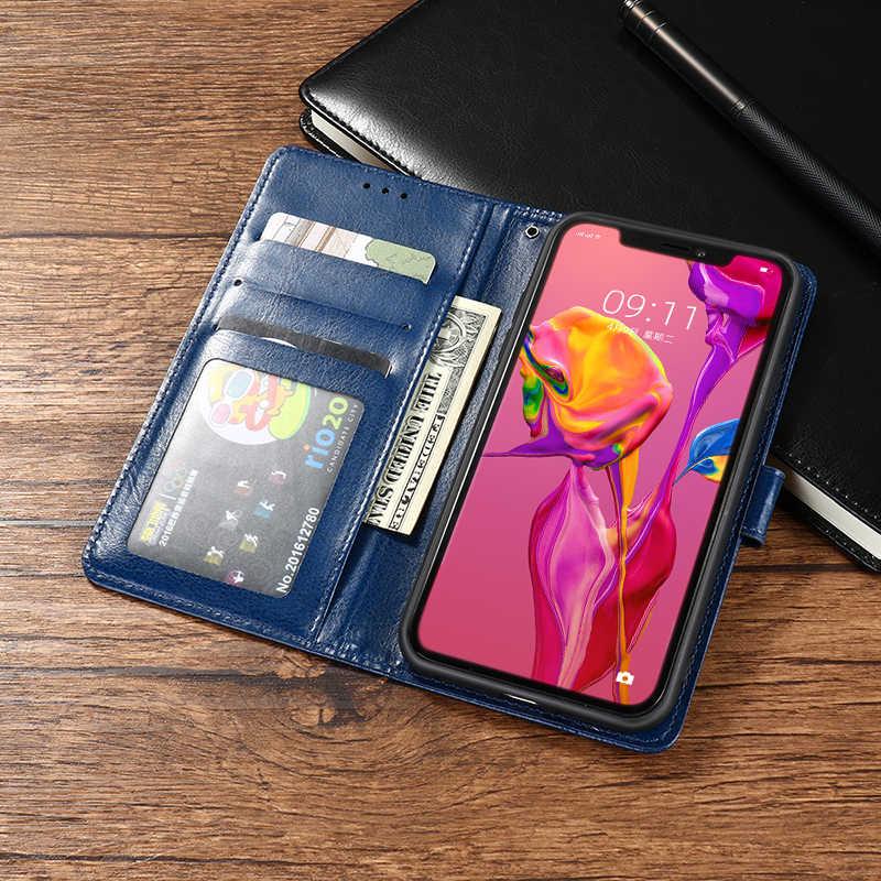 بو الجلود الوجه حقيبة لجهاز LG X الطاقة 2 3 G6 G7 G8 V30 V40 V50 ThinQ 5G K20 K30 X2 2019 K40 2017 K12 زائد K9 K8 2018 Q60 K50 غطاء