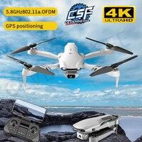 2021 nuova F10 Drone 4K HD doppia fotocamera con GPS 5G WIFI grandangolo FPV trasmissione in tempo reale distanza Rc 2km droni professionali