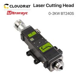 Ultrarayc Raytools BT240S головка для резки волокна, ручная фокусировка 0-2 кВт 0-3 кВт для лазерной резки QBH