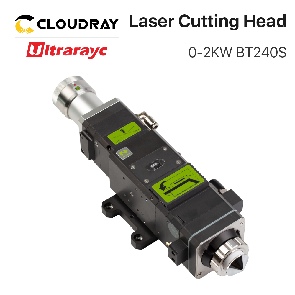 Ultrarayc Raytools BT240S Fiber Cutting Head 0-2kw For QBH FIber Laser Cutting Machine