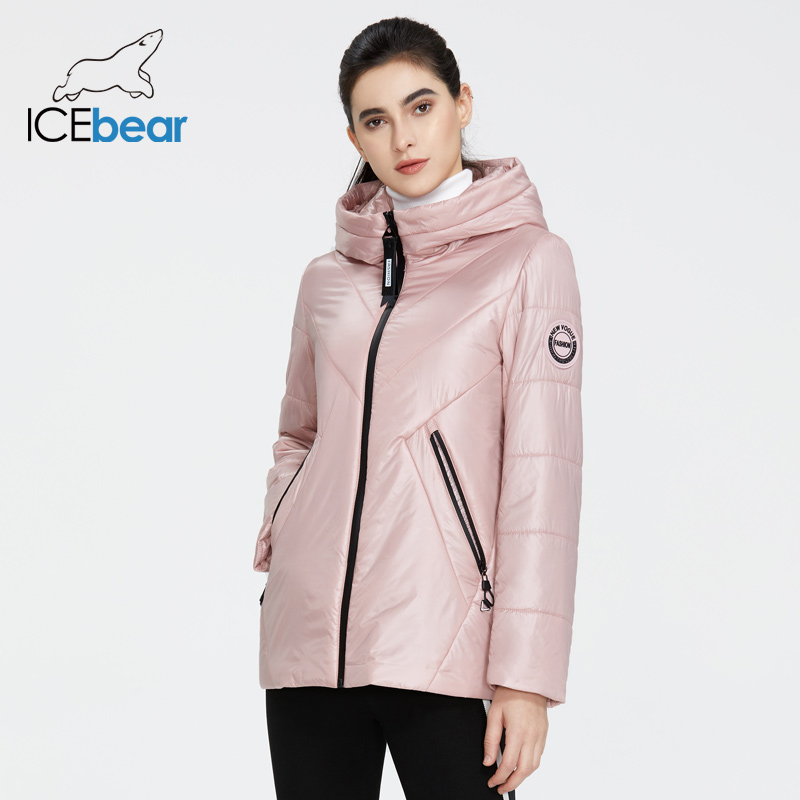 ICEbear 2020 New Women Jacket Women Spring Coat Fashion Casual Women Clothing Brand Apparel GWC20061I