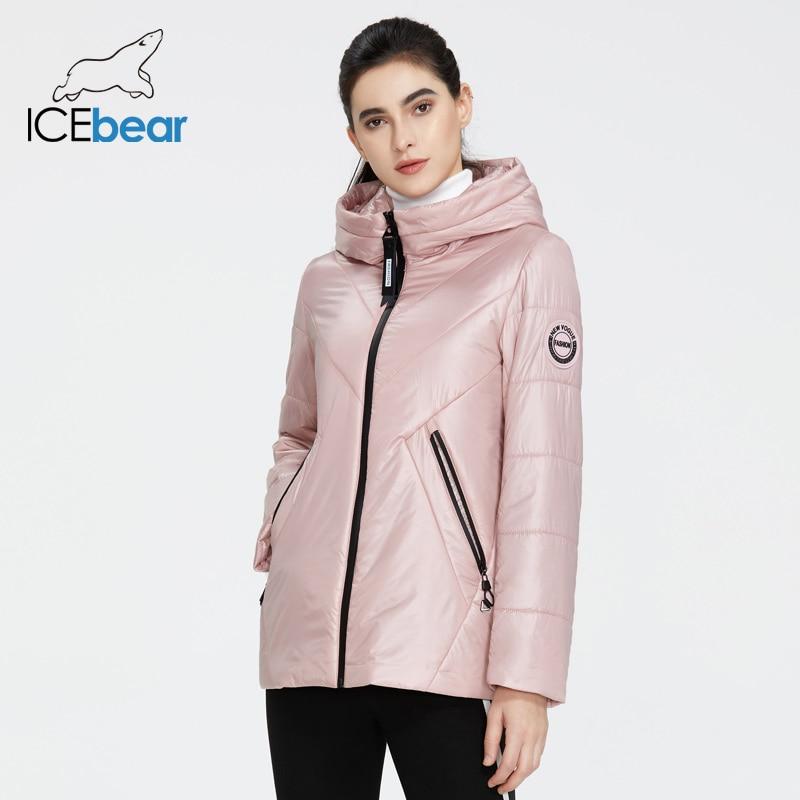 ICEbear 2020 New Women Jacket Women Spring Coat Fashion Casual Women Clothing Brand Apparel GWC20061I