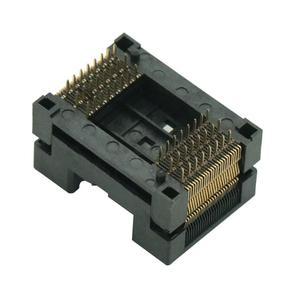 Image 3 - TSOP 48 TSOP48 prise pour programmeur NAND FLASH IC nouveau TSOP 48 puce Test prise IC prises électriques
