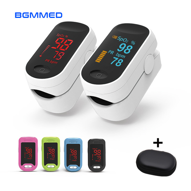 Portable Finger Pulse Oximeter OLED blood oxygen Heart Rate Saturation Meter Medical Oximetro de dedo Saturometro Monitor