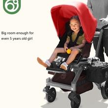 Wózek dziecięcy Orbitbaby G3 2 w 1 siedzisko obrotowe 360 stopni duże siedzisko krzesełko dziecięce z gondolą tanie tanio 7-9 M 10-12 M 13-18 M 19-24 M 2-3Y 4-6Y