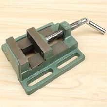 цена на 3 Inch Flat Pliers Machine Flat Pliers Simple Pliers Drilling Machine Flat Pliers Woodworking Table Vise Bench Vise