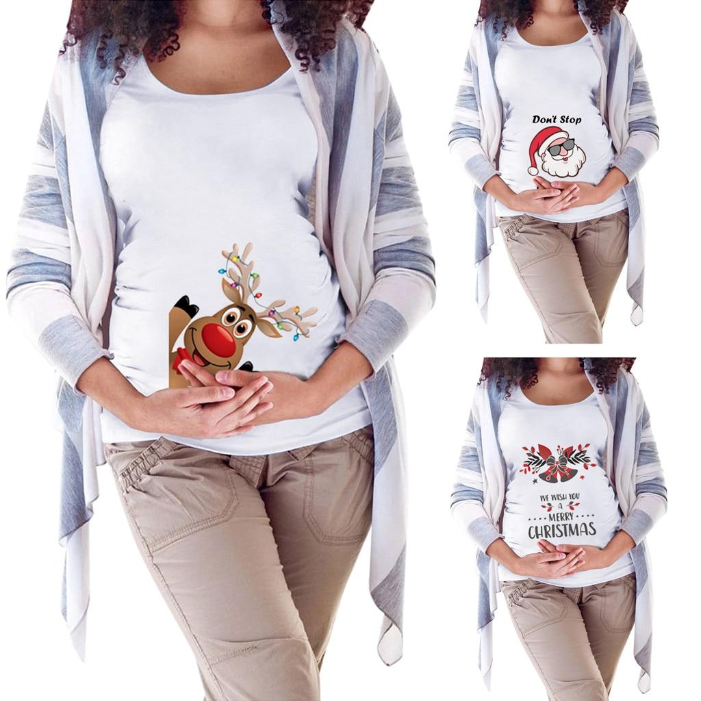 Summer Funny Cartoon Print Pregnancy T Shirt Tops Maternity Clothing Plus Size Short Sleeve Pregnant Women Hot Sale T Shirts Tees Aliexpress