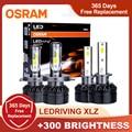 H7 OSRAM светодиодный дальнего 9012 HIR2 HB2 H11 9005 9006 HB3 HB4 светодиодный h4 автомобильные лампы 6000K h1 светодиодный авто светильник головной светильник, ...