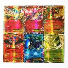 Pokemon EX Shining TAKARA TOMY карточная игра битва карт 100 шт Торговые игрушки для детей
