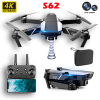 JINGHENG-Dron de control remoto 4K con cámara HD, cámara profesional de fotografía aérea, WIFI, FPV, Quadcopter plegable, Sensor de vitalidad, juguetes de regalo para chico