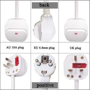 Image 4 - Universelle buchse Power Streifen EU UK AU stecker mit Schalter control Verlängerung Kabel Adapter Kabel Umwandlung Für Geräte