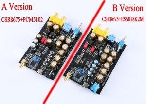 Image 5 - Máy Nghe Nhạc Lossless HIFI CSR8675 APTX HD Bluetooth 5.0 Không Dây Adapter ES9018K2M PCM5102A I2S Đắc Giải Mã 24BIT TWS Ra 2 Đầu RCA 3.5M