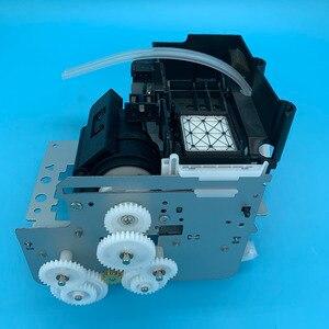 Image 2 - DX5 druckkopf Tinte Auf Wasserbasis Pumpe Montage Capping Station für Epson 7800 7880C 7880 9880 9880C 9800 Pumpe Einheit Reinigung einheit