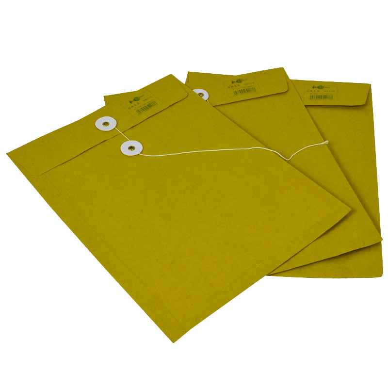 Kraft Envelope Yellow Moisture-Proof Portfolio Invoice Bag Classic Western Official Envelope Every Size Wholesale