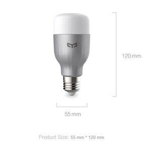 Image 5 - Yeelight لمبة ملونة E27 الذكية APP واي فاي التحكم عن بعد الذكية مصباح ليد RGB/درجة الحرارة الملونة رومانسية المصباح الكهربي
