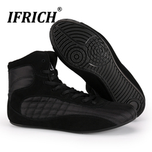 Professional Boxing Shoes Wrestling Shoes for Men Training Shoes Fighting Weightlift Shoes Man Combat Boots Gym Sneakers Muscle