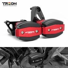 TREON dla HONDA CB650R CBR650R CB CBR 650R 2019 2020 akcesoria motocyklowe rama suwak padowa osłona nadwozia Protector