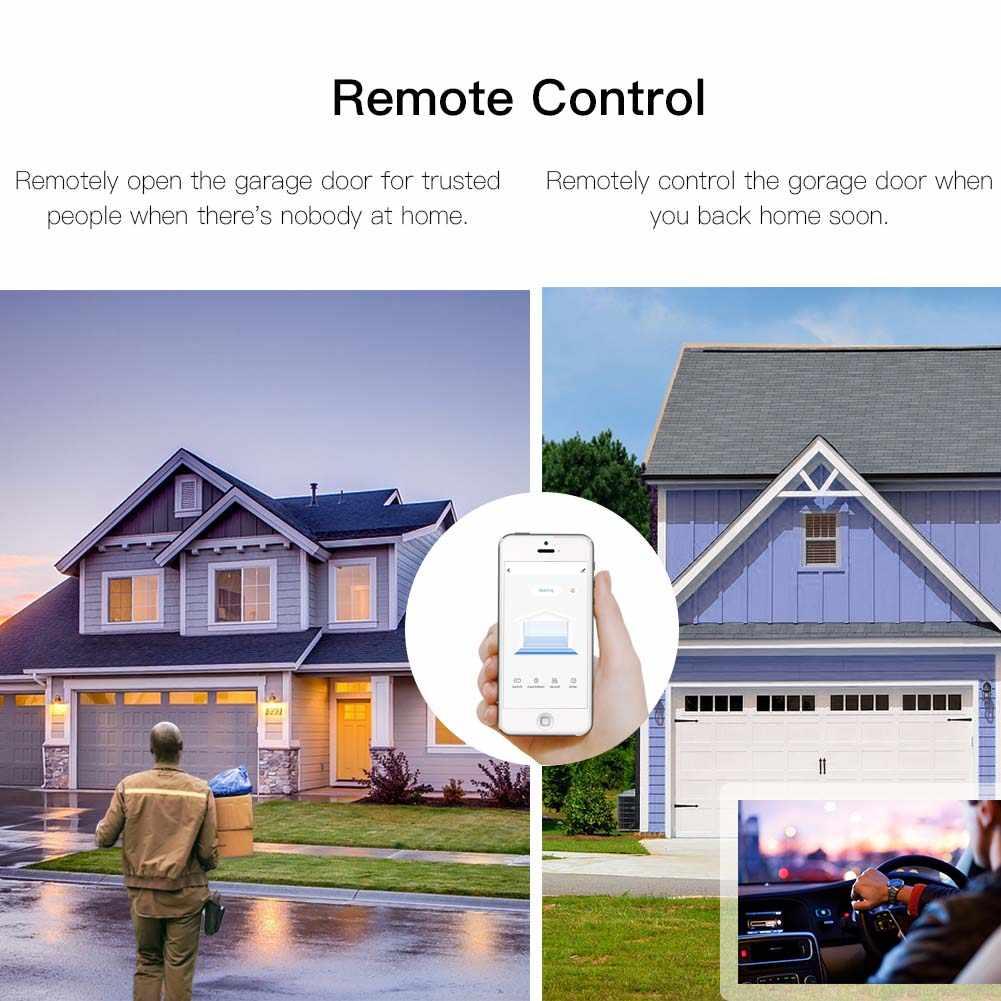 Hiçbir Hub gerekli WiFi akıllı garaj kapısı kontrol Alexa Echo Google ev ile akıllı yaşam APP uzaktan açık yakın monitör uyumlu