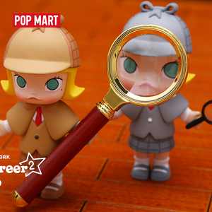 Image 5 - POP MART Molly Career art toys figure Random box gift Blind box Action Figure Birthday Gift Kid Toy free shipping
