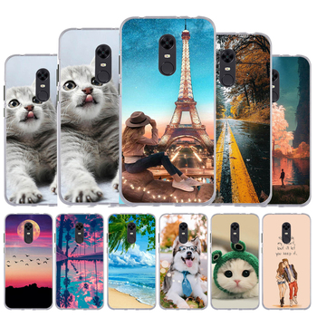 For Funda Xiaomi Redmi 5 Plus Cover Case For Xiaomi Redmi 5 Plus Cute Case Silicone TPU Phone Back Cover Redmi Note 5 (Global) image
