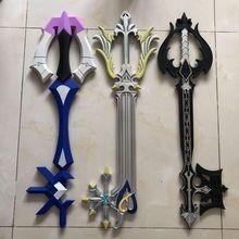 3 styles Hot Game Kingdom Hearts Key blade Oblivion color Key Style PU Weapon Ac