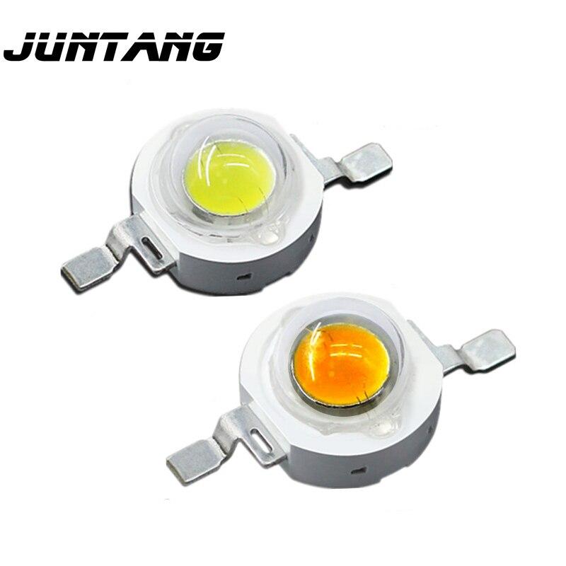 100pcs Ad Alta potenza perline lampada a led cree circuito integrato del LED 1W 3W LED Rosa full spectrum bianco caldo bianco freddo bianco naturale bianco