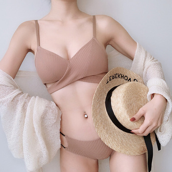 Sexy Lingerie bra set Hollow Out Soft Bras 1