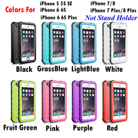 20pcs Waterproof Case For IPhone 5s se 8 7 Plus Original RedPepper Dot Series IP68 Diving Underwater PC TPU Cover For IPhone 7 8
