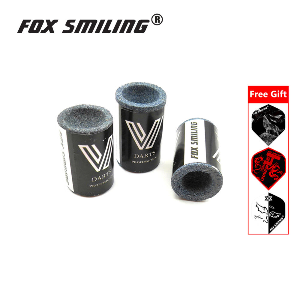 Fox Smiling Professional Darts Sharpener For Steel Tip Darts Steel Sharpening Stone Dart Accessories