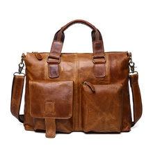 Большие дорожные сумки мужские почтальонки из натуральной кожи