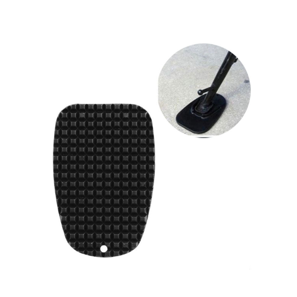 Universal Motorcycle Plastic Side Stand Moto Bike Kickstand Non-slip Plate Side Extension Support Foot Pad Base Parking Scooter