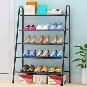 Image 2 - Ayakkabı rafı depolama dolabı standı ayakkabı organizatörü raf ayakkabı ev mobilya meuble chaussure zapatero mueble schoenenrek meble