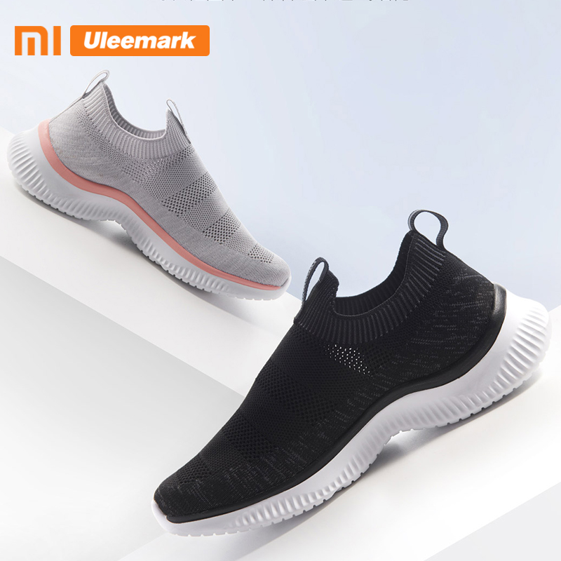 Xiaomi Uleemark Men's Sneakers, Breathable Textile Uppers And Comfortable Lightweight Cushioning Walking Shoe