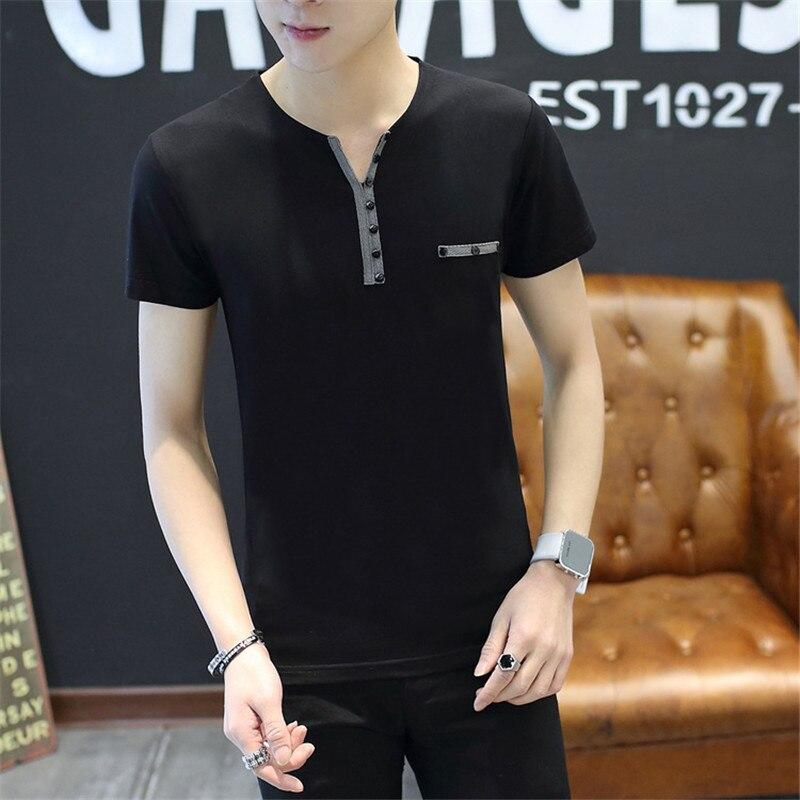Belbello hombres verano venta bien color puro manga corta cuello redondo Camiseta cómoda ropa deportiva al aire libre
