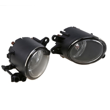 MagicKit Car Light For Audi A4 Convertible B6/B7 8E0941700 8E0941699 Car-Styling Halogen Front Fog Light Fog Lamp With Bulbs for audi a4 b6 2001 2002 2003 2004 2005 rs4 car styling left side halogen front fog light fog lamp with bulbs