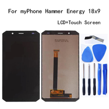 5.7-inch For myPhone Hammer Energy 18x9 18*9 18:9 LCD Display+Touch Screen Assembly Digitizer Replacement Glass Repair kit