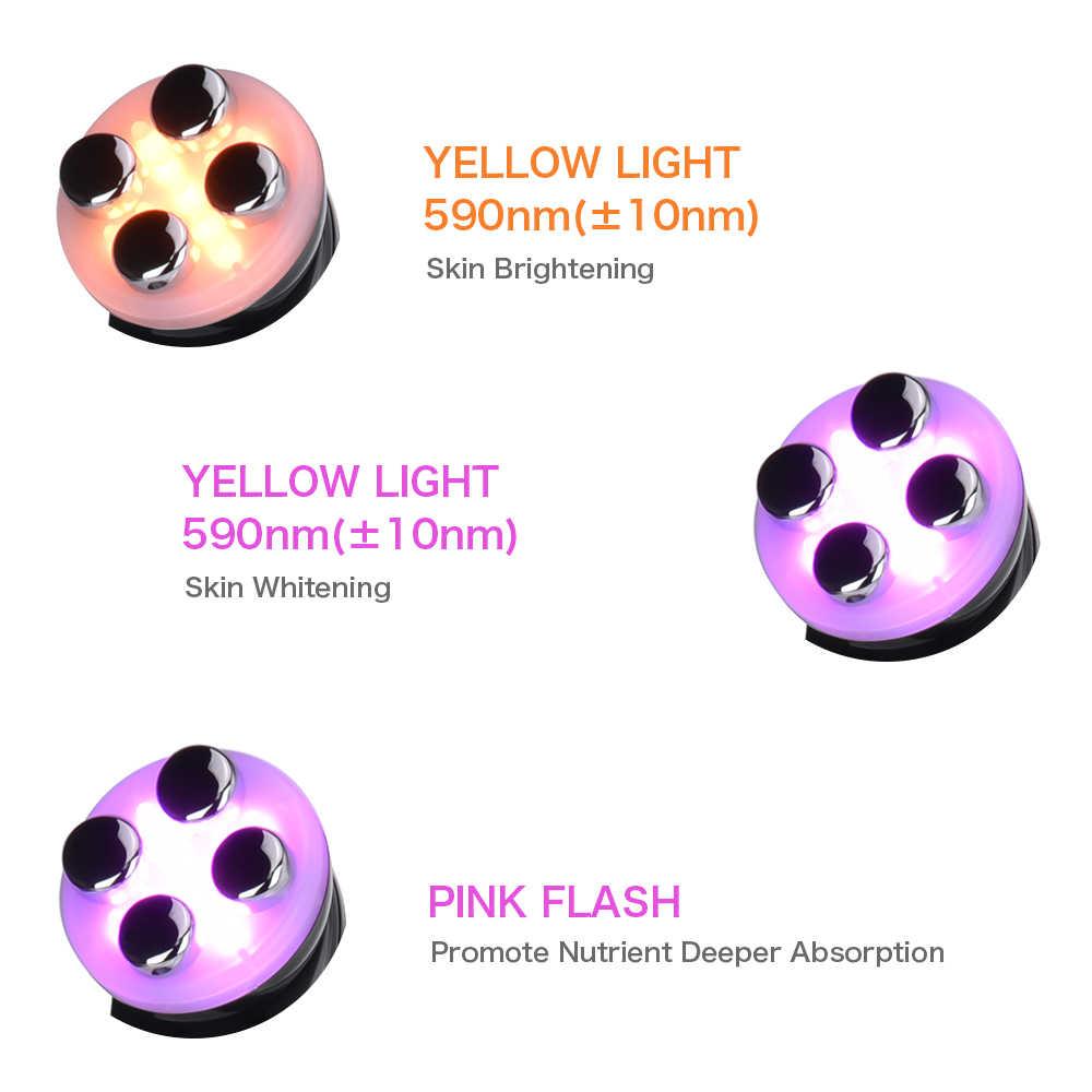 5 IN 1 Face Rejuvenation Ultrasonic LED Lights Skin Tightening Anti-aging 7D