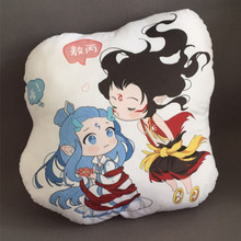 NE ZHA mythology new film cartoon kids naughty figure Plush Stuffed Baby Child Toys Christmas Gift Cushion pillow
