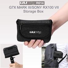 UURig R014 Waterproof Storage Bag Universal Portable Box Carrying Case Handbag for G7X MARK III SONY RX100 VII Camera Accessory