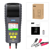 Car-Battery-Tester Printer AUTOOL BT860 Multi-Language with Real-Time Real-Time