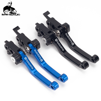 For Husqvarna FE350S FE 350S 350 S FE350 S 2020 Motorcycle Dirtbike Pit Dirt Bike Pivot CNC Brake Clutch Levers Handle Printing