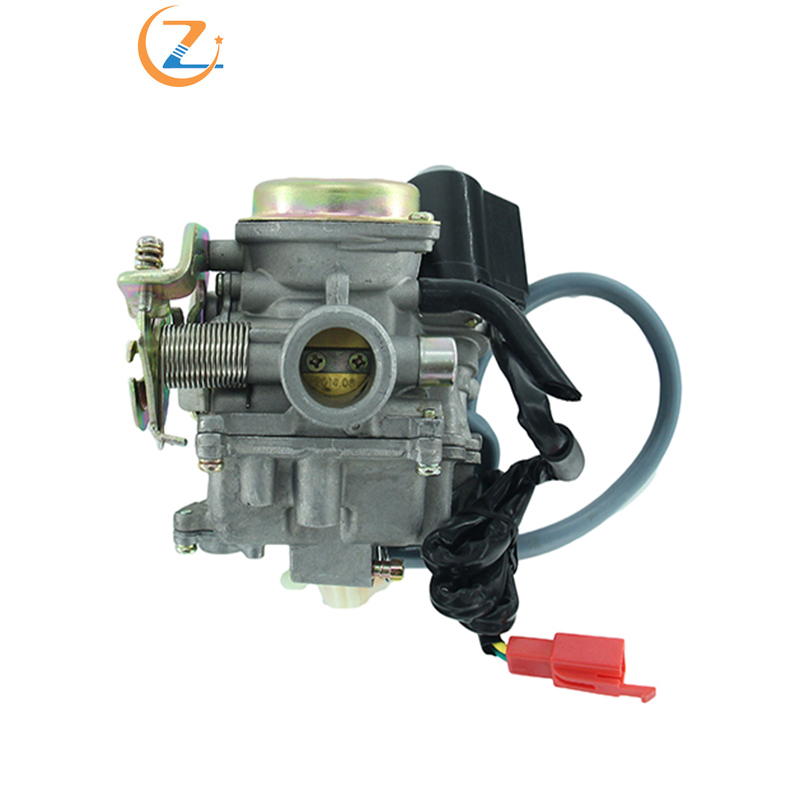 <font><b>GY6</b></font> <font><b>50cc</b></font> 60cc 80cc Scooter <font><b>Carburetor</b></font> Carb 4 Stroke Moped ATV 2HK-146 image