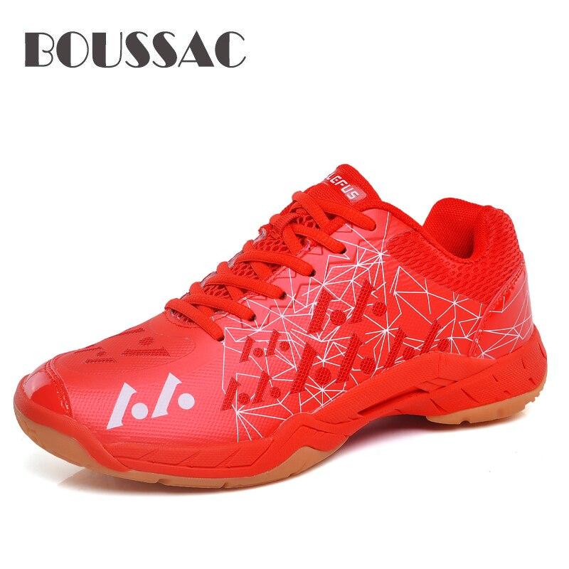 BOUSSAC nuevos zapatos de bádminton para hombres transpirables de interior calzado deportivo ligero Tenis zapatillas para bádminton azul verde para hombre zapatillas