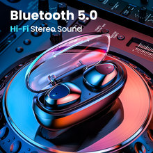 Fivi Bluetooth 5.0 Earphone Nirkabel Earbud Handsfree Olahraga Stereo Headset untuk Huawei Samsung Xiaomi(China)